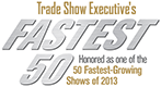 Trade Show Executives Fastest 50 Award badge